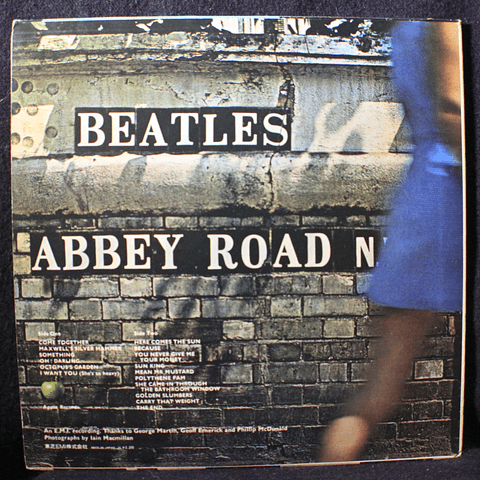 Beatles ‎– Abbey Road (Ed Japón '69)