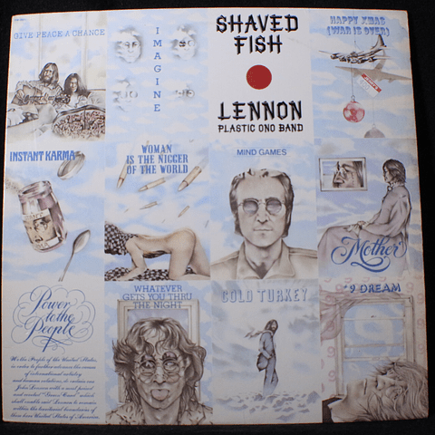 John Lennon Plastic Ono Band ‎– Shaved Fish