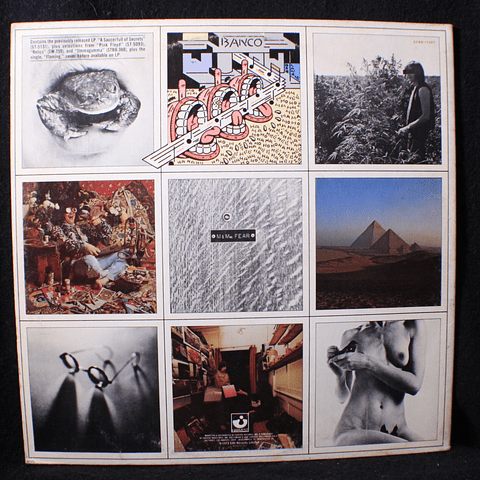 Pink Floyd – A Nice Pair - The Piper At The Gates+ A Saucerful of Secrets (1a Ed USA sin censura)