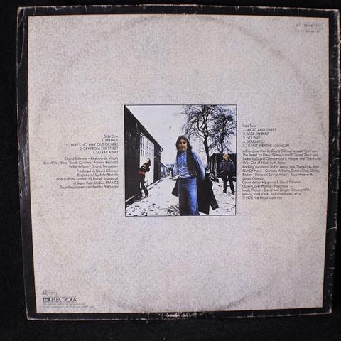 David Gilmour – David Gilmour (Ed Alemana)
