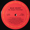 Billie Holiday ‎– The Original Recordings (orig MONO USA '73)