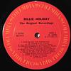 Billie Holiday – The Original Recordings (orig MONO USA '73)