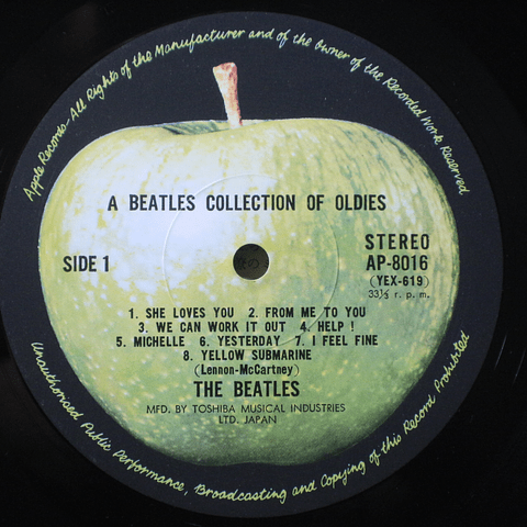 Beatles ‎– A Collection Of Beatles Oldies