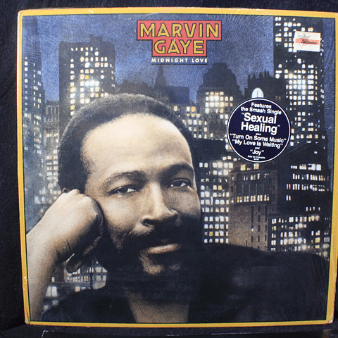 Marvin Gaye ‎– Midnight Love (1a Ed USA)