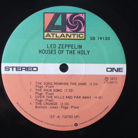 Led Zeppelin ‎– Houses Of The Holy (Ed USA)