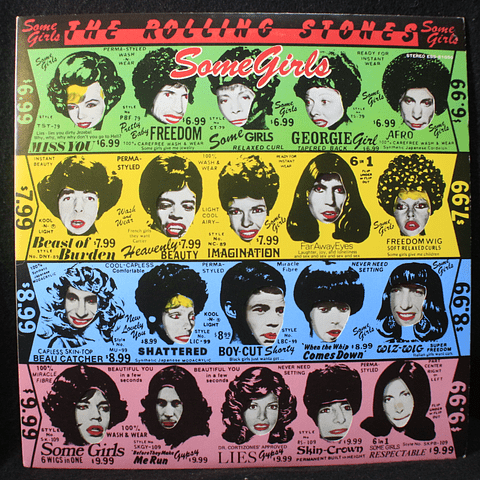 Rolling Stones – Some Girls (1a Ed Japón)