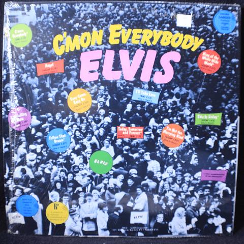 ElvisPresley – C'mon Everybody (USA Mono)