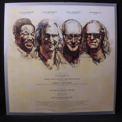 Dave Brubeck Quartet – 25th Anniversary Reunion (Ed Japón)