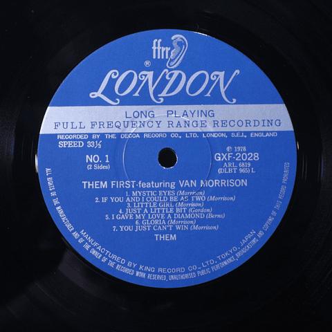 Them – Them First featuring Van Morrison (Ed Japón Mono)