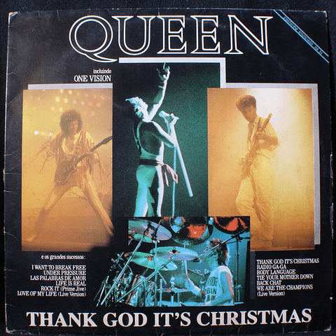Queen ‎– Thank God It's Christmas (Ed Exclusiva)