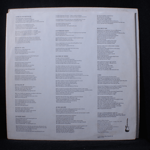 Dire Straits – I 78' (1a Ed USA)