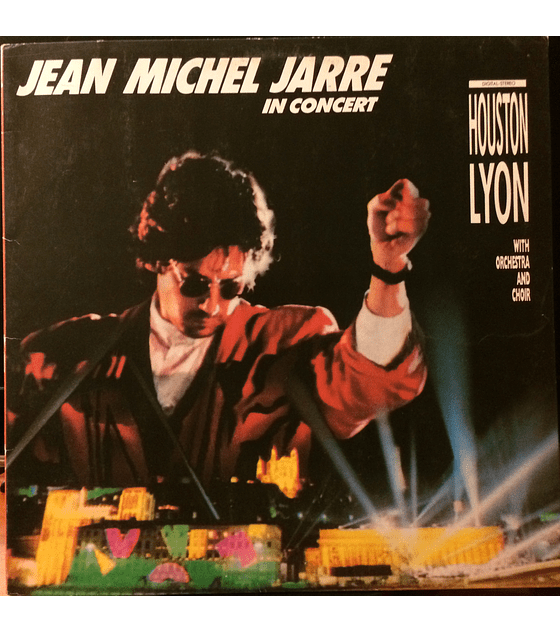 Jean Michel Jarre ‎– In Concert: Houston / Lyon