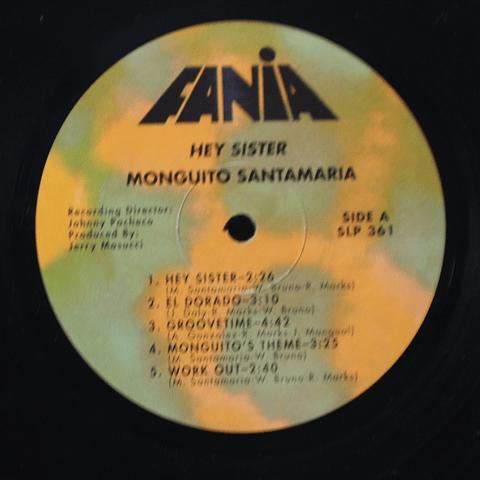 Monguito Santamaria – Hey Sister