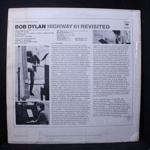 Bob Dylan – Highway 61 Revisited (ed USA)