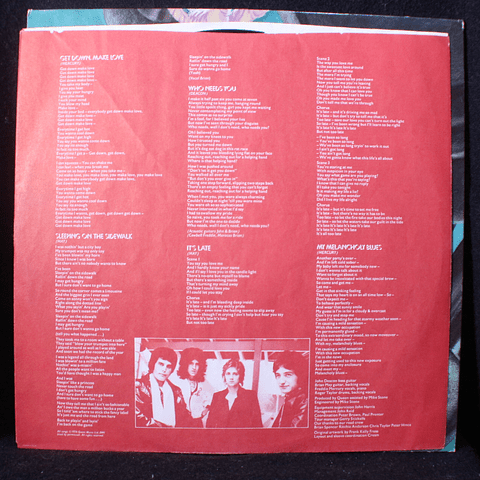 Queen ‎– News Of The World (1a Ed IUSA)