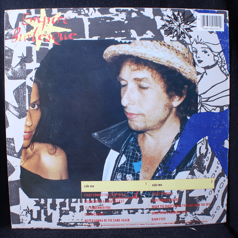 Bob Dylan ‎– Empire Burlesque