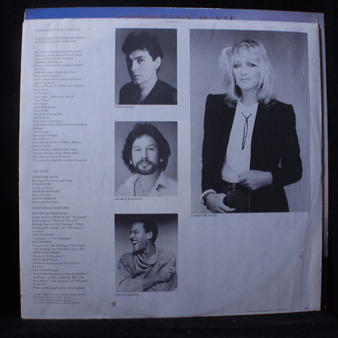 Christine McVie '84 1a Ed USA (Fleetwood Mac)