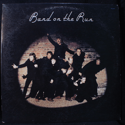 Paul McCartney & Wings (Beatles) ‎– Band On The Run (1a Ed USA)