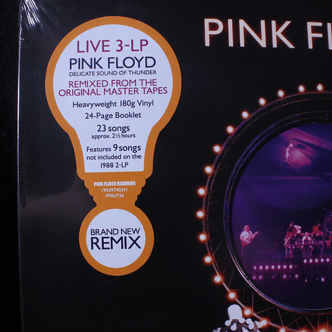 Pink Floyd – Delicate Sound Of Thunder Restored 3xLPs