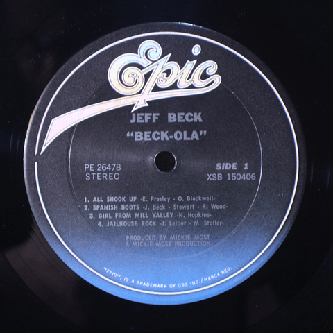 Jeff Beck Group* – Beck-Ola