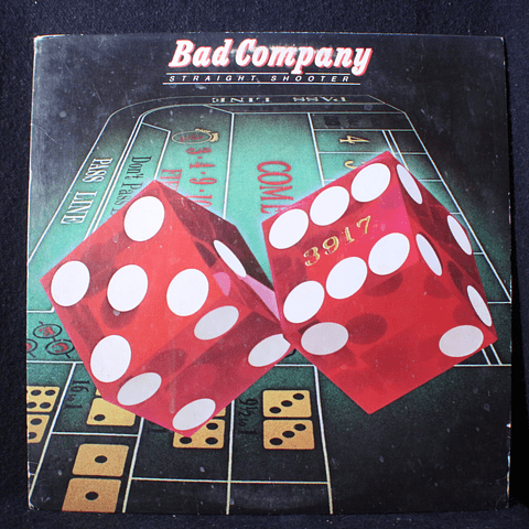 Bad Company – Straight Shooter (1a Ed USA)