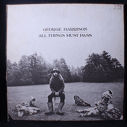 George Harrison (Beatles) – All Things Must Pass (1a Ed. USA, leer descripsión))
