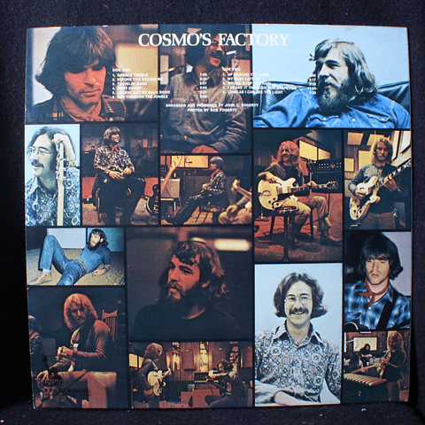 Creedence Clearwater Revival – Cosmo's Factory (1a Ed Japon)