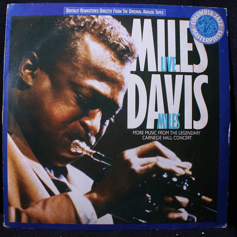 Miles Davis – Live Miles: More Music From The Legendary Carnegie Hall Concert