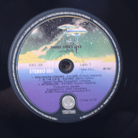 Genesis – Three Sides Live