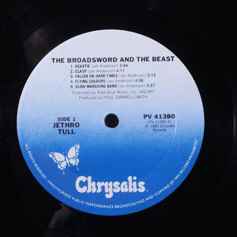 Jethro Tull – The Broadsword And The Beast (Ed USA)