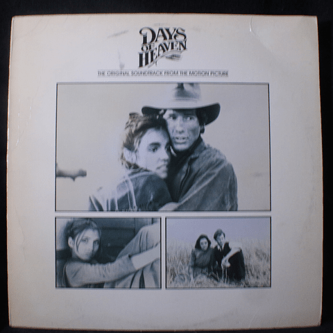 Ennio Morricone ‎– Days Of Heaven - The Original Soundtrack From The Motion Picture