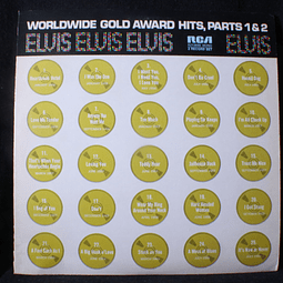 Elvis Presley ‎– Worldwide Gold Award Hits, Parts 1 & 2 (SUA mono)