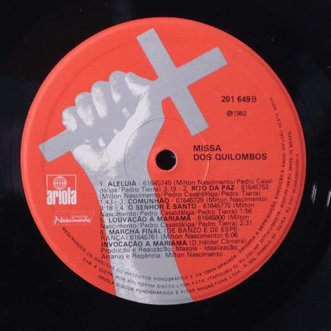 Milton Nascimento / Pedro Casaldáliga / Pedro Tierra – Missa Dos Quilombos