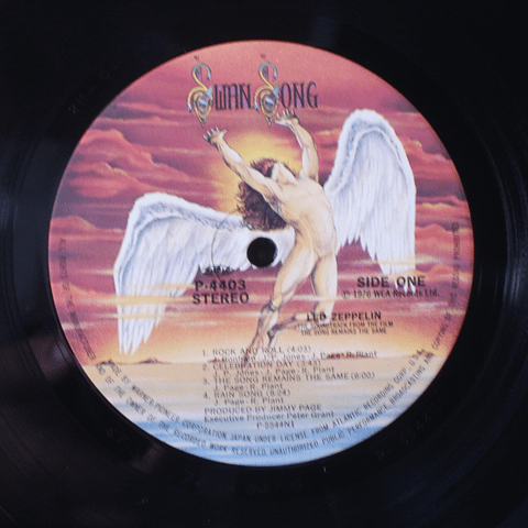 Led Zeppelin – The Song Remains The Same (Ed Japón)