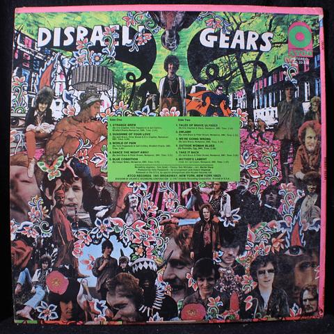 Cream (Eric Clapton) – Disraeli Gears (Ed USA '69)