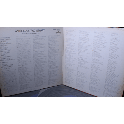Rod Stewart – Anthology (Ed Japón)
