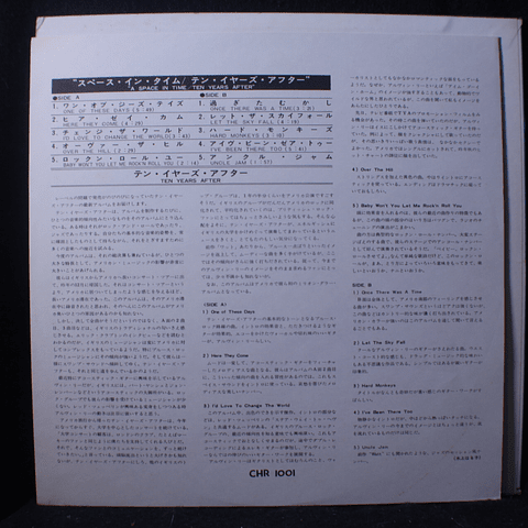 Ten Years After – A Space In Time (Ed Japón)