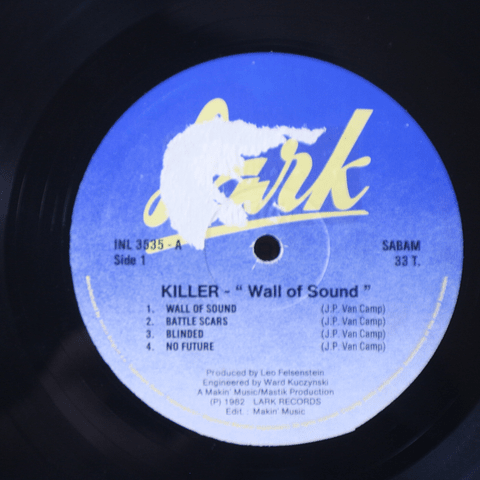 Killer) ‎– Wall Of Sound