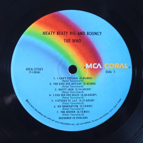 Who – Meaty Beaty Big And Bouncy