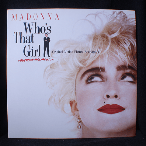 Madonna ‎– Who's That Girl (Ed Japón))