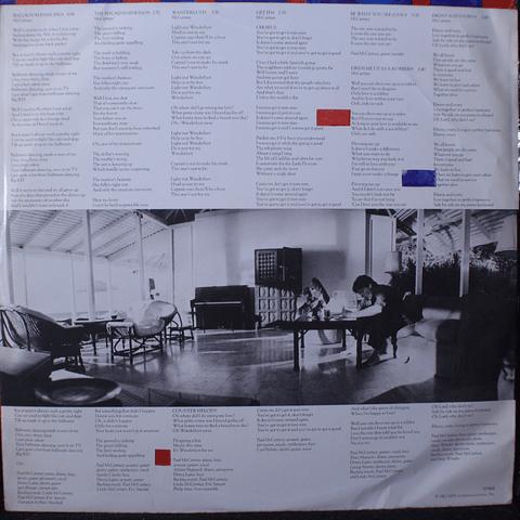 Paul McCartney – Tug Of War (1a Ed Canadá)