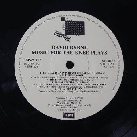 David Byrne – Music For The Knee Plays (Ed Japón)