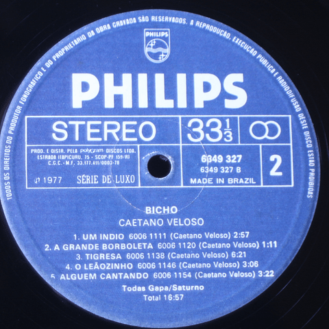 Caetano Veloso – Bicho