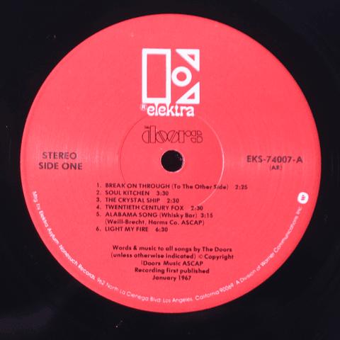 Doors – The Doors '67 I (Ed USA '71)
