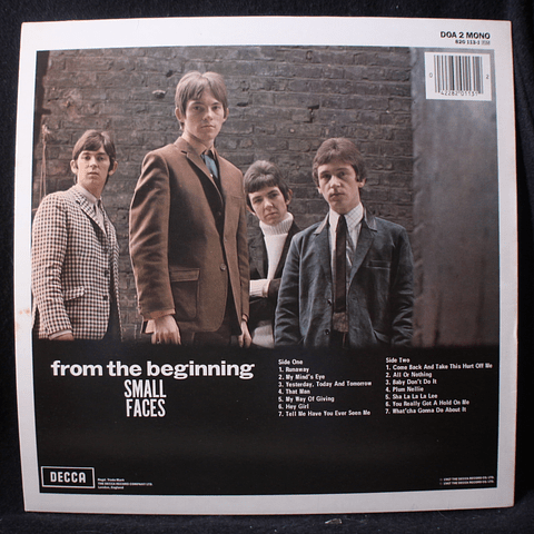 Small Faces – From The Beginning (ed UK Mono)