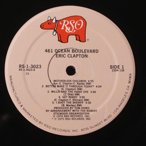 Eric Clapton – 461 Ocean Boulevard (Ed USA