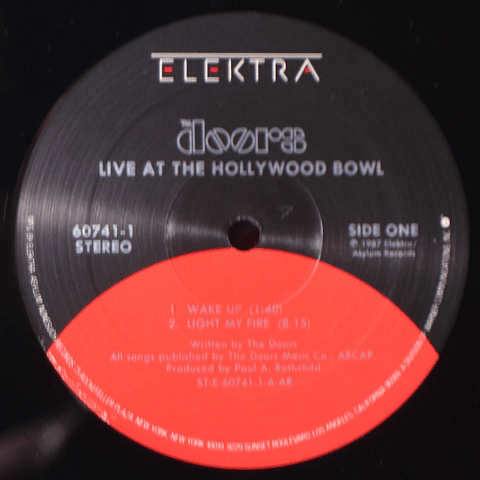 Doors – Live At The Hollywood Bowl (1a Ed USA)
