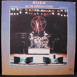 Rush – All The World's A Stage (Ed USA)