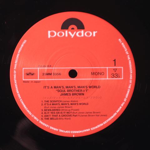 James Brown – It's A Man's, Man's, Man's World (Ed Japón)