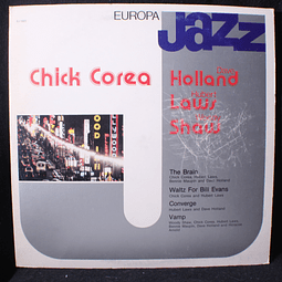 Chick Corea, Dave Holland, Hubert Laws, Woody Shaw ‎– Europa Jazz